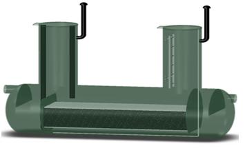 Фильтр сорбционный безнапорный типа ФСБ.